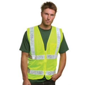 Mesh Safety Vest - Lime Thumbnail